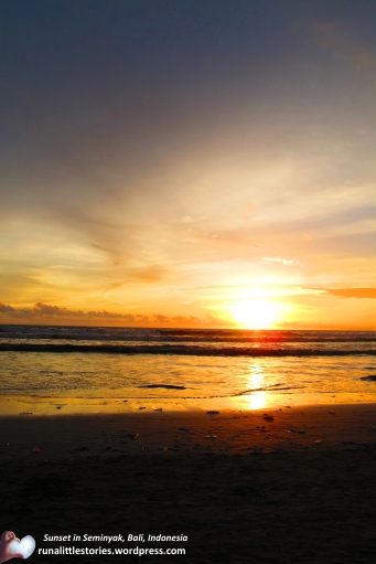 2014-09 Another sunset in Seminyak