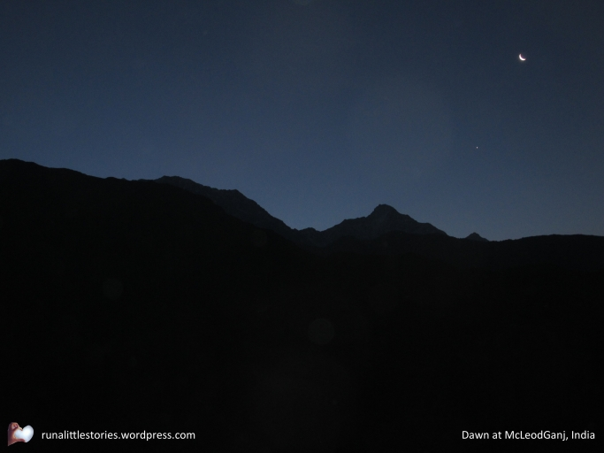 2014-09 Dawn at McLeod Ganj