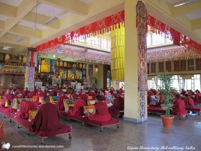 2014-09 Inside Gyuto Monastery